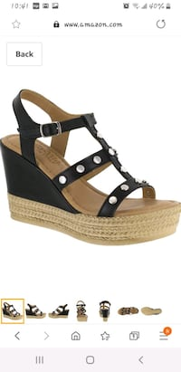 Women's Wedge Sandals 9W Alexandria, 22303