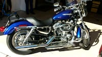 blue and black cruiser motorcycle Springfield, 22153