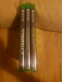 BN Xbox One games all for 20 Coquitlam, V3J 5X7