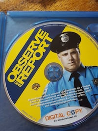 Observe and Report Blu-ray