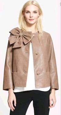 "Leather jacket ""Kate Spade"""