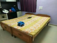 Two single wooden beds Bengaluru, 560068