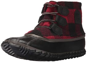 Sorel Women's Out N About Snow Boot, Mud Black, 7