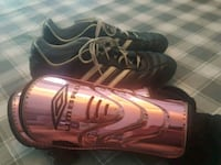 Ladies Adidas Indoor Soccer Shoes and Umbro Shins Mississauga, L5K 2R4