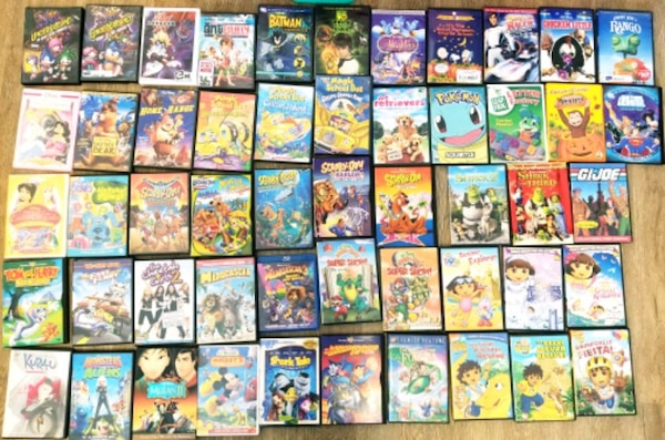 DVDs- lot of 205 092d7a36-6556-462e-ba4d-c810c81e403c