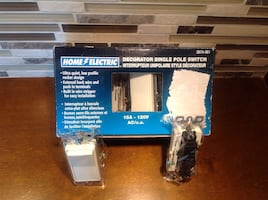 Home Electric Single Pole Decorator Switches (pack