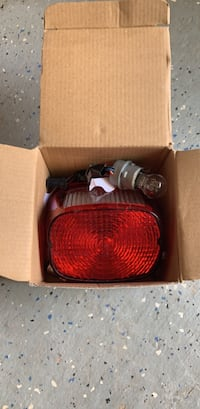 Replacement Head Lights and Brake Light for Harley Davidson Motorcycle Manassas, 20110