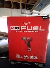 Milwaukee m18 fuel 3/8 Impact Wrench w/ Friction ring