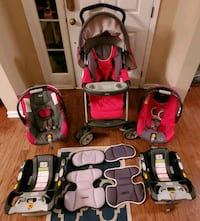 Chicco KeyFit 30 Travel System with extra seat