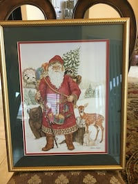 Santa Claus with Animals Print Cape Coral, 33914