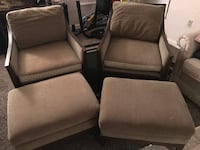 Chairs w/ foot rest  Boulder City, 89005