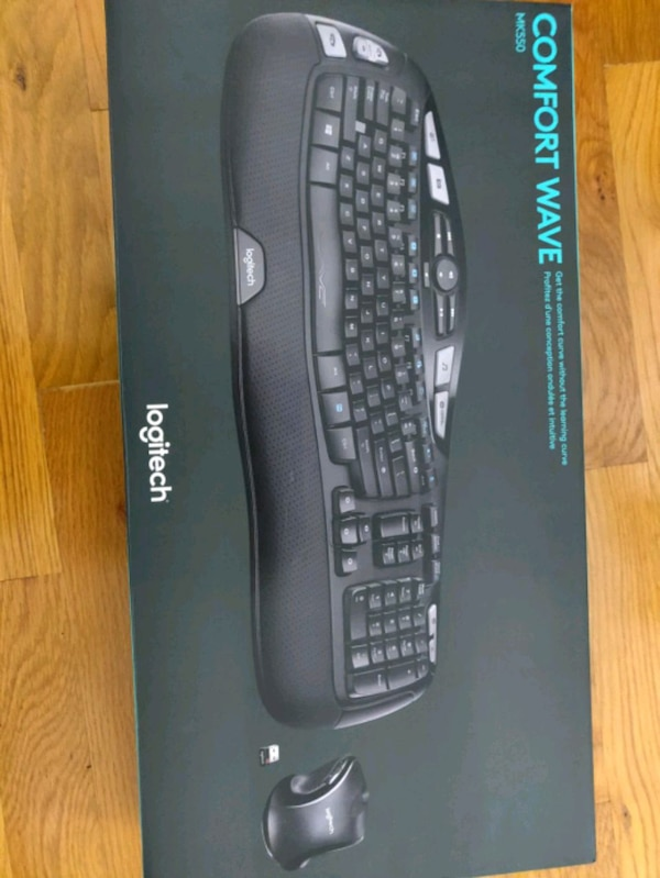 Logitech unifying wireless keyboard and mouse