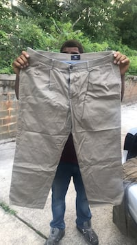 Khakis for work or play and levi jeans. Brand of khakis docker and nordstroms. Baltimore