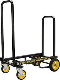 Rock-N-Roller R2RT (Micro) 8-in-1 Folding Multi-Cart/Hand Truck/Dolly/