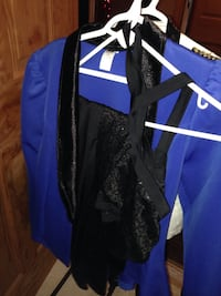 Blue and black zip-up jacket Fort Erie, L2A