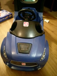 blue and black ride on toy car Herndon, 20170