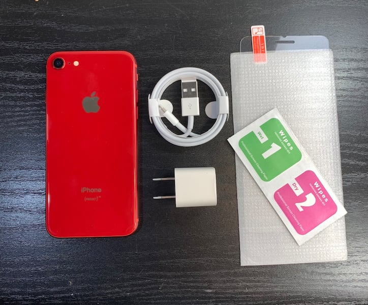 Like new iphone 8 Red unlocked, No scratched! fbe2dc17-aedb-42c1-9c64-b703a79d7826