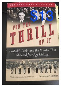 for the thrill of it by simon baatz Los Angeles, 90022