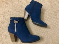 Navy Blue Booties Size 7 1/2 *Price Negotiable* Tempe, 85283