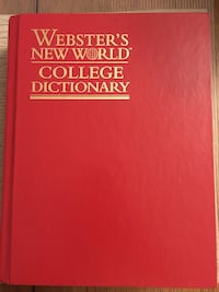 $5 Webster's New World College Dictionary VGC  Montréal, H4G
