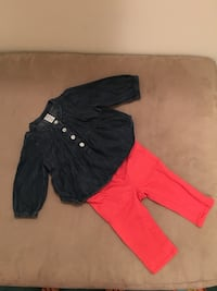 Baby girl gap outfit - size 3-6 months 217 mi