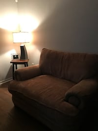 Loveseat and the ottoman