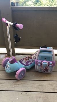 toddler's pink and blue ride on toy District Heights, 20747