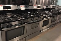 10% off stainless steel gas stove Reisterstown, 21136