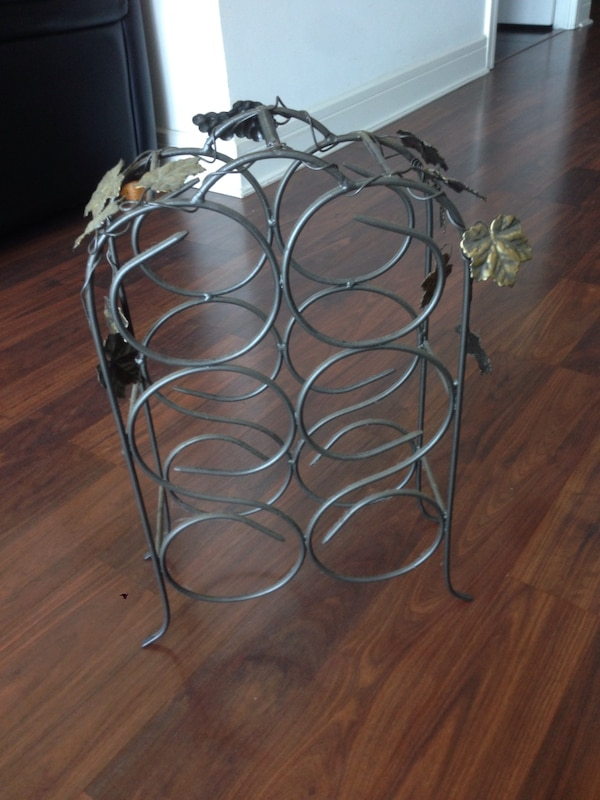 Steel wine rack 0