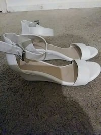 White Dress Sandals Size 7  Virginia Beach, 23456