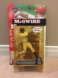 Mark McGwire mcfarlane figure new in box  Kitchener, N2P 0C7