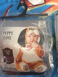 infant's puppy love costume Hempstead, 11756