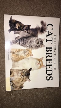 Book (Ultimate guide to Cat Breeds) Salem, 24153