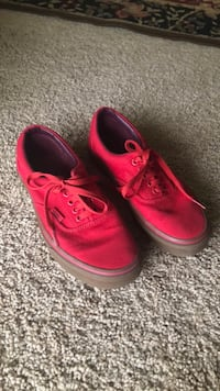 pair of red Vans low-top sneakers Nashville, 37212
