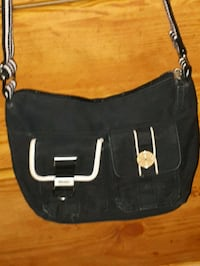 black and white leather hobo bag St. Catharines, L2M 4G1