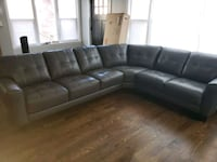 Brand new Italian leather sectional couch Chicago, 60618