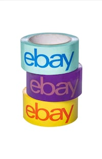 "Ebay packing tape 2""×75' Sioux Falls, 57106"