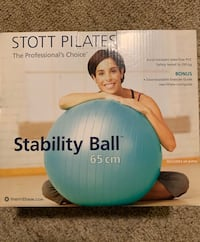 Stott Pilates Stability Ball with Air Pump