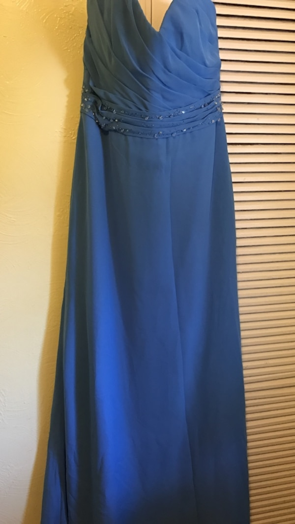 ca686548f09 Used Blue long gown for sale in Tampa - letgo