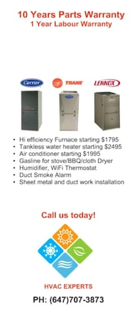Water heater repair Pickering