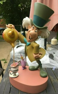 Disney Big Fig MAD HATTER from Alice in Wonderland, Rare - Works well