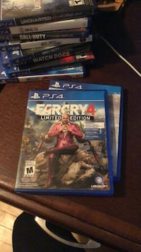 Ps4 uncharted 4 game case Calgary, T2M 2A5