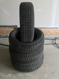 Winter tires/set of 4 Edmonton, T5A 1V4