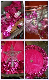 Pink and Silver Christmas Ornaments  Capitol Heights, 20743
