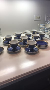 FINE China! 12 cups 9 saucers 21 pcs. trim. Made in Japan. . Dolton, 60419
