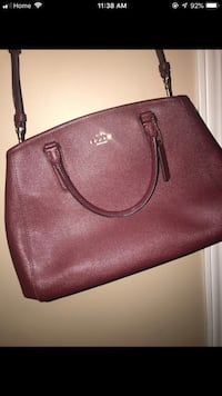 brown leather 2-way bag Windsor, N9B 3H9
