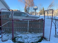 Hockey Net with side panels St Albert