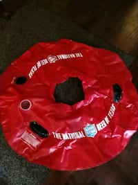 red and black inflatable floater Dallas, 75214