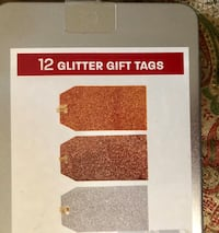 Glittered gift tags Columbia, 21044