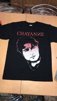 Black Chayanne Shirt Small, Medium and Large  219 mi